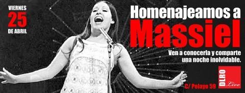 MASSIEL SERÁ HOMENAJEADA EL PRÓXIMO DÍA 25 EN EL DELIRIO LIVE DE MADRID