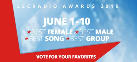 YA PUEDES VOTAR EN LOS «ESC RADIO AWARDS 2019»